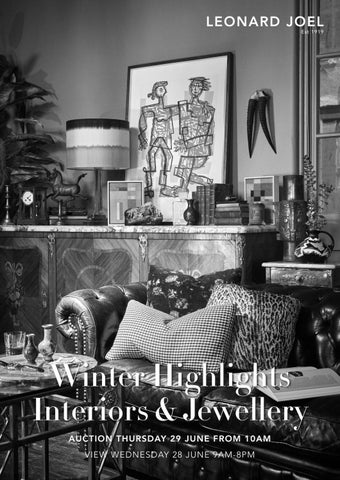 Winter Highlights - Interiors & Jewellery