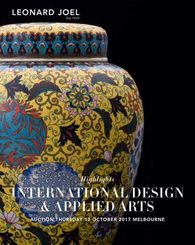 International Design & Applied Arts
