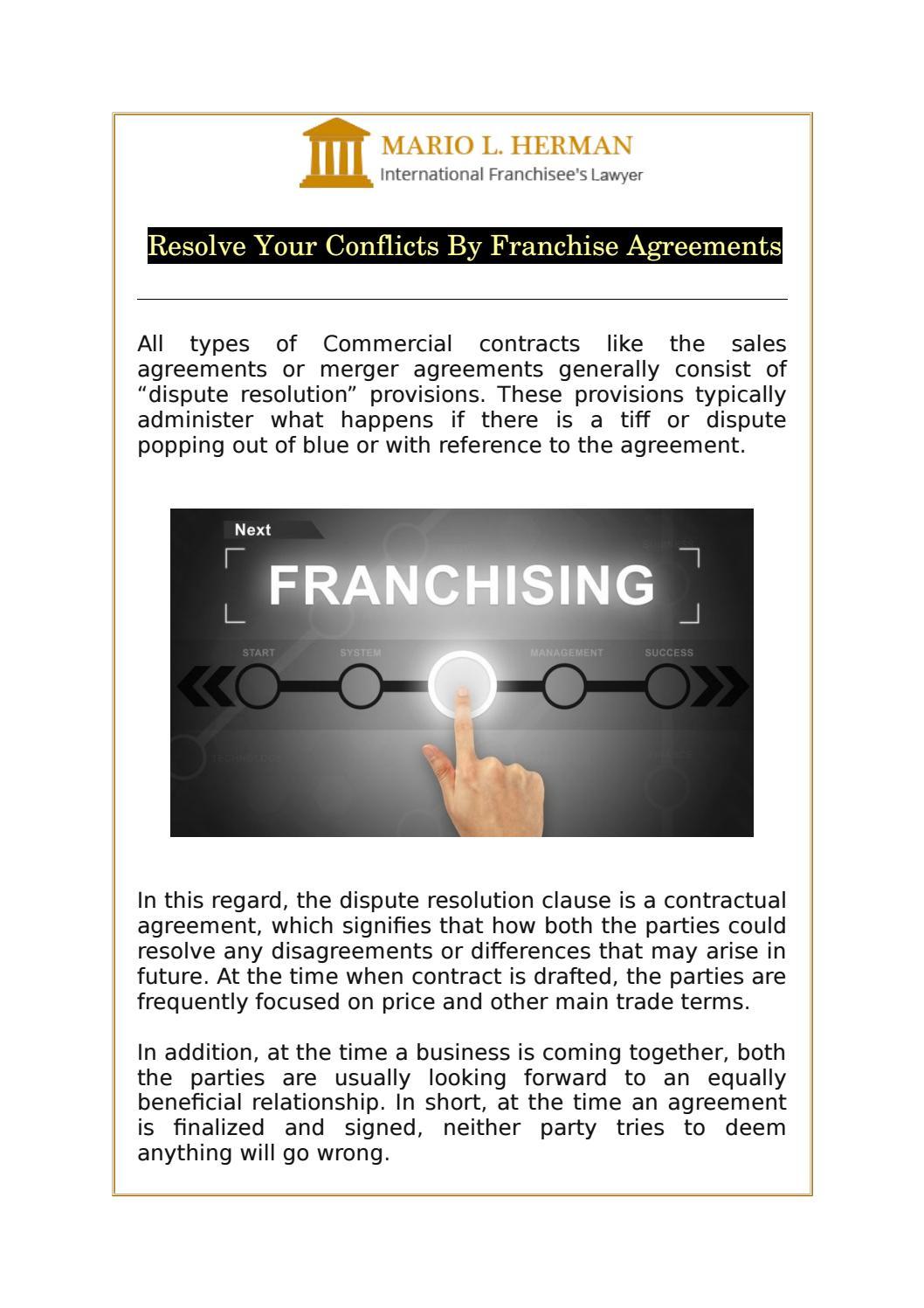 International Franchise Agreement Franchising Know How - mandegar.info
