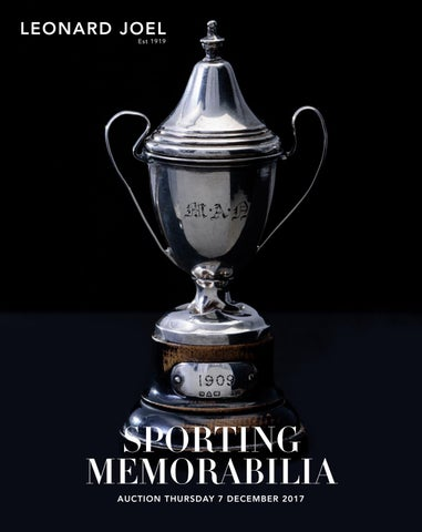 Sporting Memorabilia