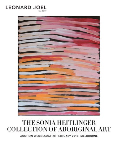 The Sonia Heitlinger Collection of Aboriginal Art