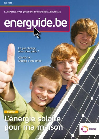 Energuide.be #25 / 2020-06