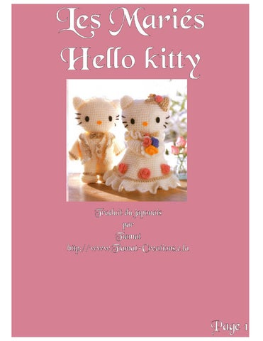 Be More: Horgolt Hello Kitty in 2020 | Hello kitty | 414x320