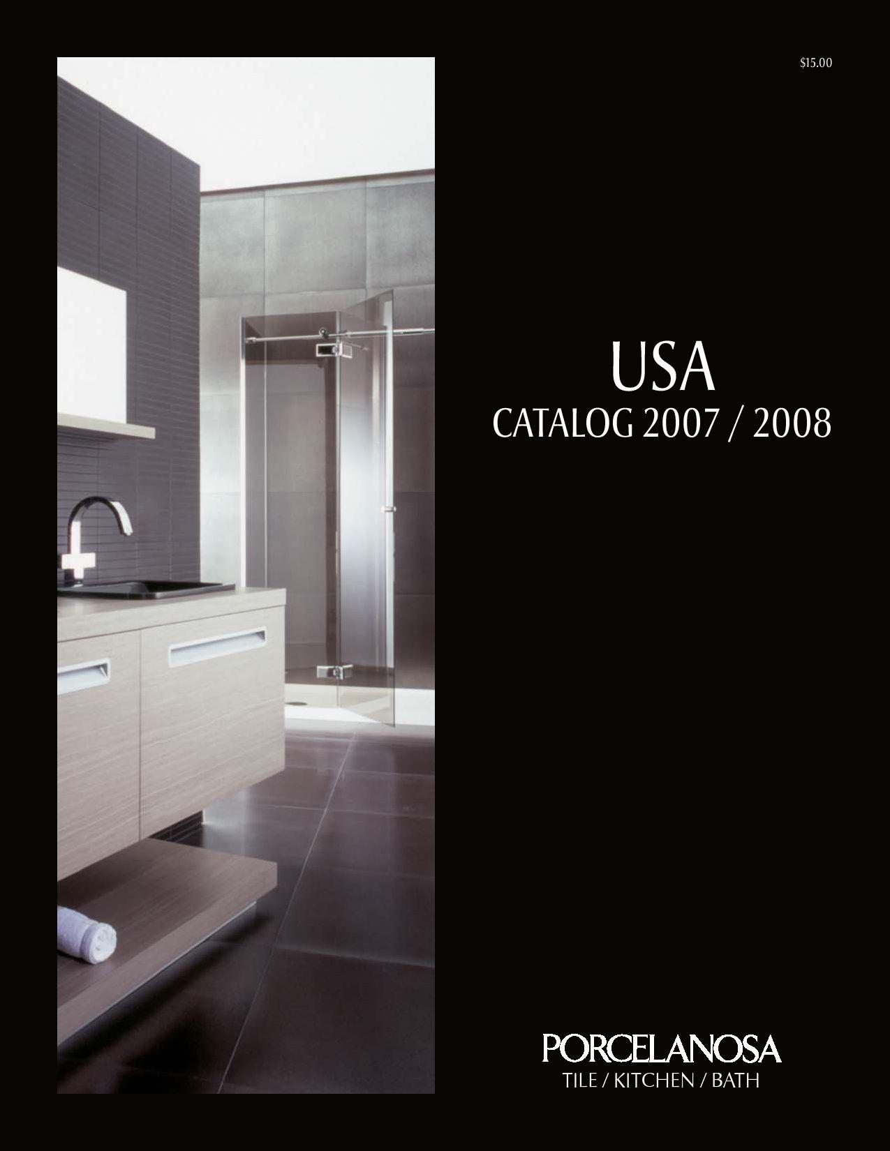 porcelanosa usa catalog 2007 08 by porcelanosa issuu. Black Bedroom Furniture Sets. Home Design Ideas