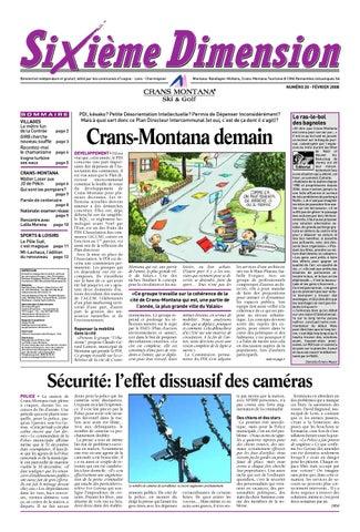540d4d0831a9 Sixième Dimension Crans-Montana - N.56 - février 2014 by Danielle ...