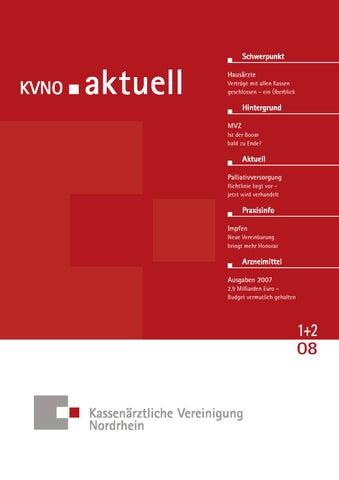 KVNO aktuell 1+2 2008 by KV Nordrhein - issuu
