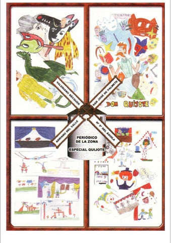 Periodico Escolar Sobre Don Quijote By Jmm00114 Issuu