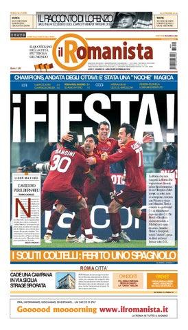 Il Romanista del 20 Febbraio 2008 by mn4262 - issuu 1fc84493a51f