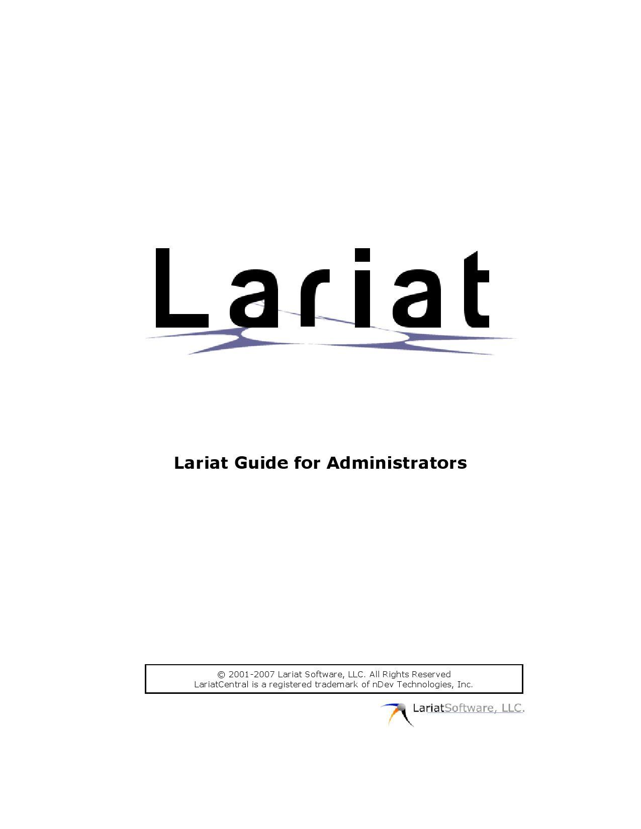 Lariat administrator guide by lariatsoftware issuu buycottarizona Images