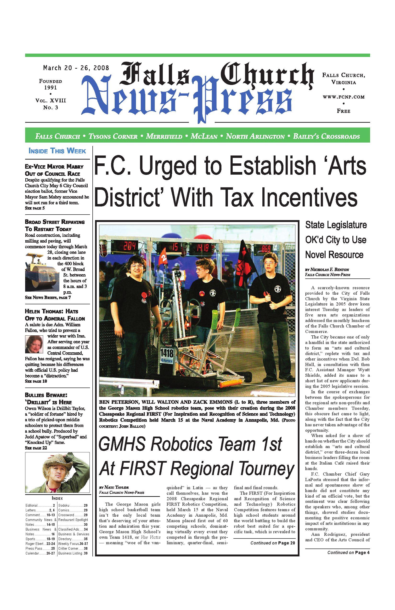 Falls Church News Press March 20 2008 By China Circuit Breaker Box Cb08 Issuu