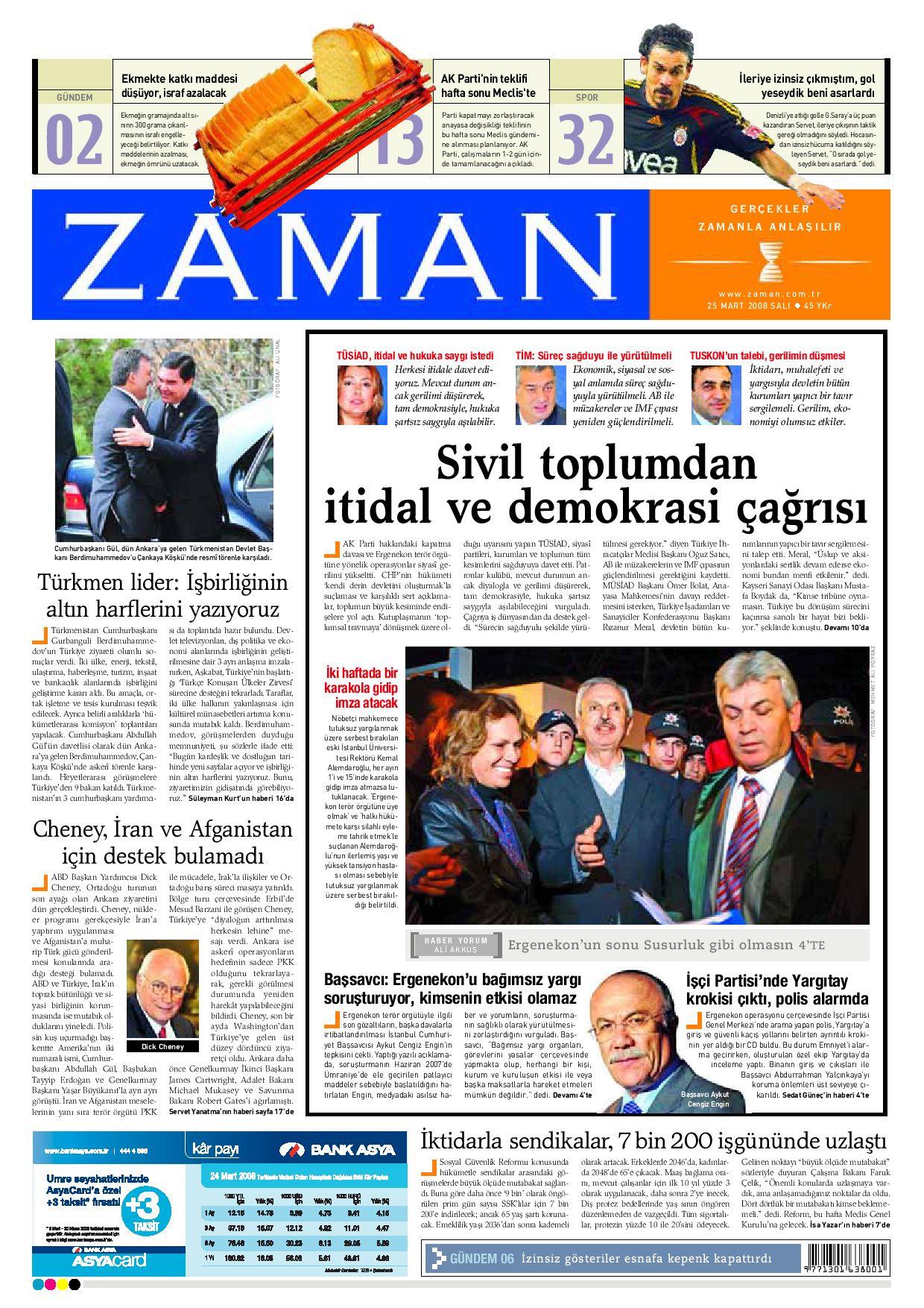 Zaman 25 Mart 2008 By Zaman Issuu
