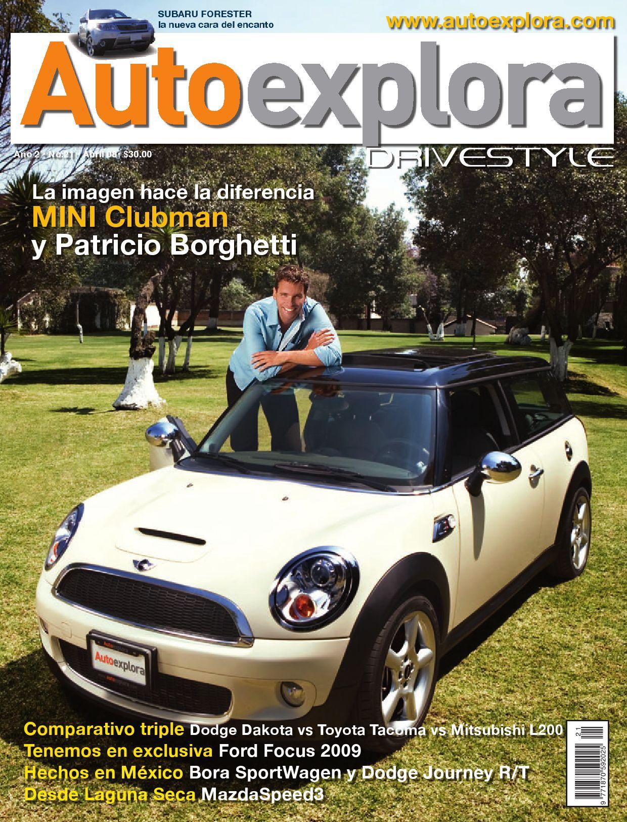Autoexplora La Revista No.21 by Autoexplora - issuu