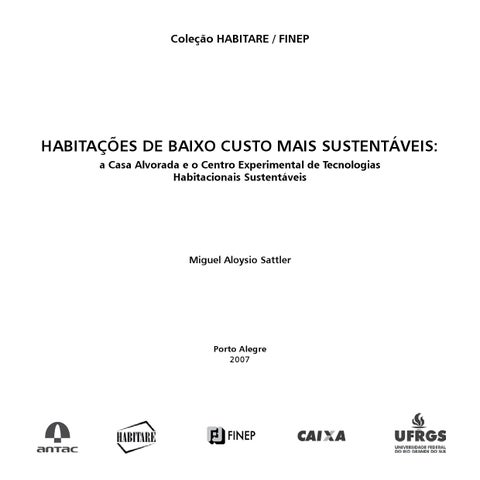 Livro  Casa sustentável by kmaleon - issuu f77474525d