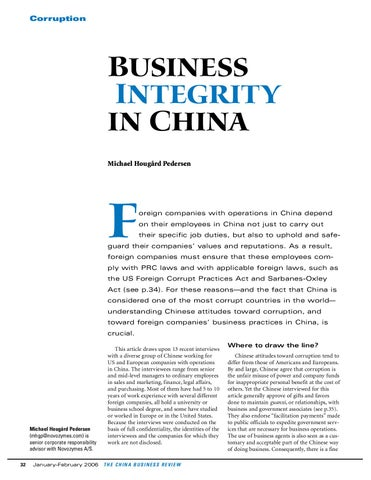 Business Integrity In China By Leerendlem Issuu