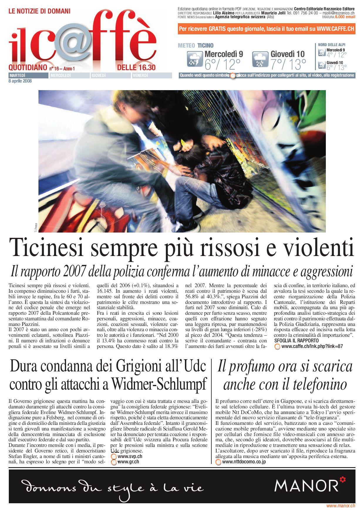 Agenzie Lavoro Canton Grigioni il caffè quotidiano numero 16 by ilcaffe - issuu