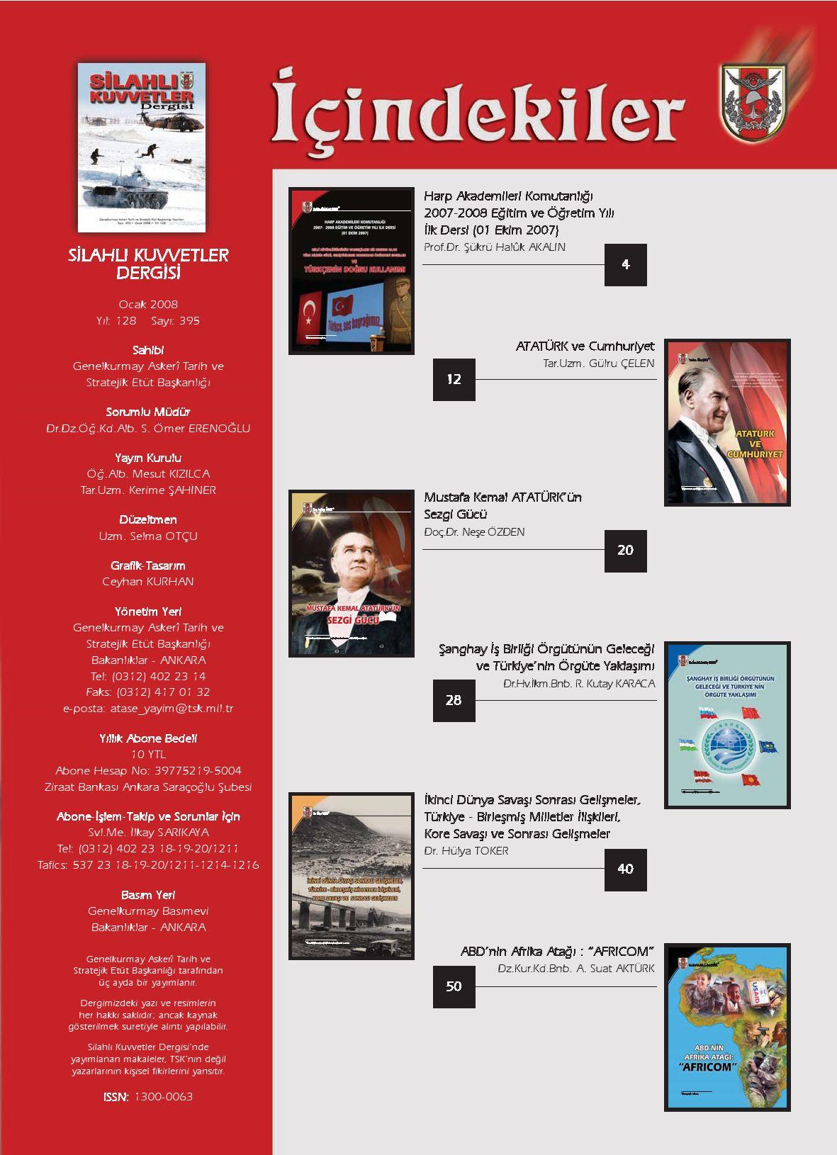 Turk Silahli Kuvvetleri Dergisi By Serdar24 Issuu