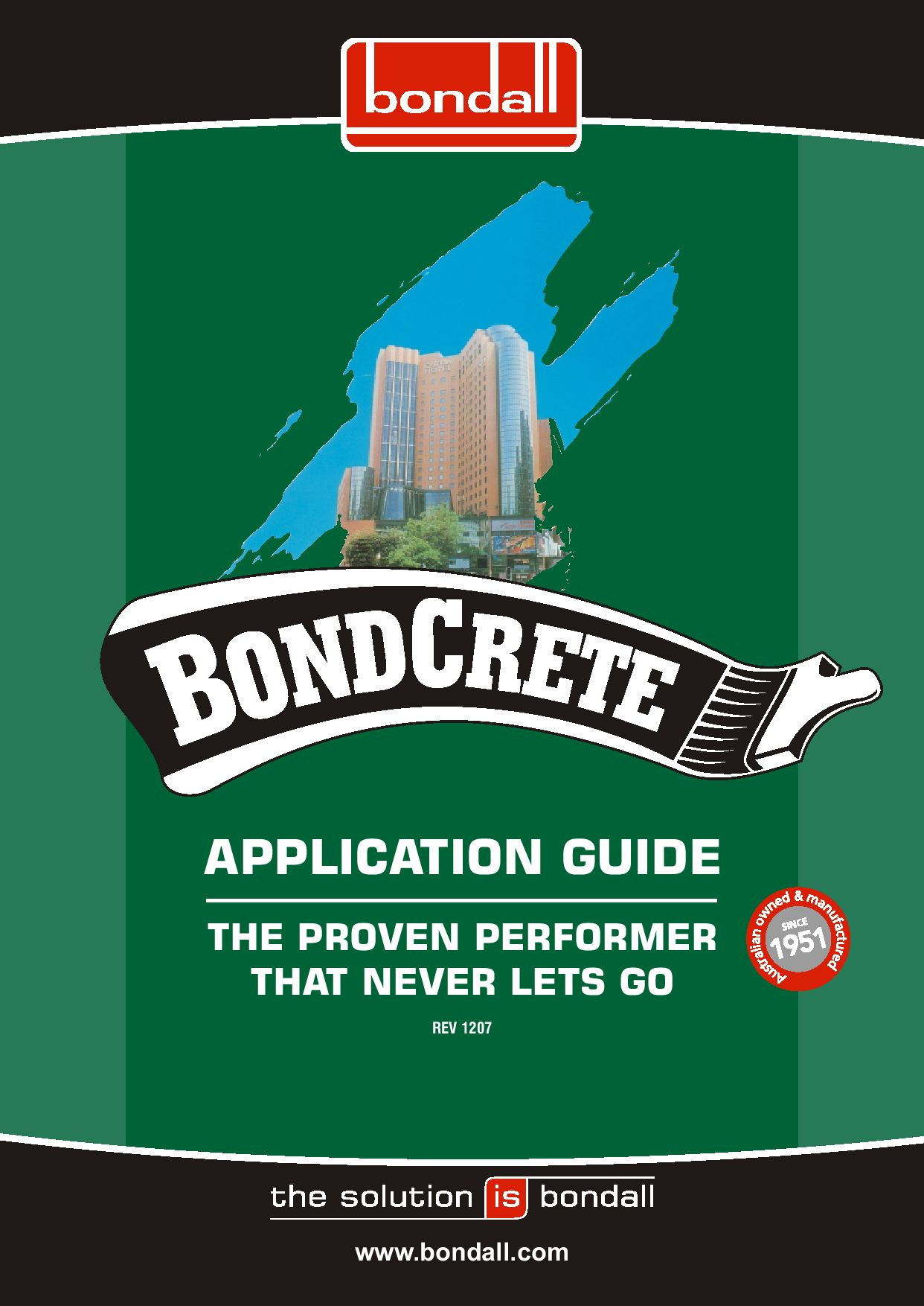 Bondall Bondcrete Application Guide By Portsafe Issuu