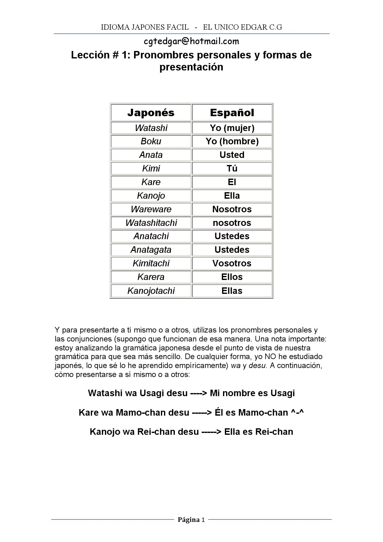 Idioma Japones Facil by cgtedgar - issuu