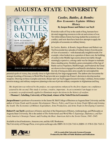 Castles, Battles, and Bombs: How Economics Explains Military History