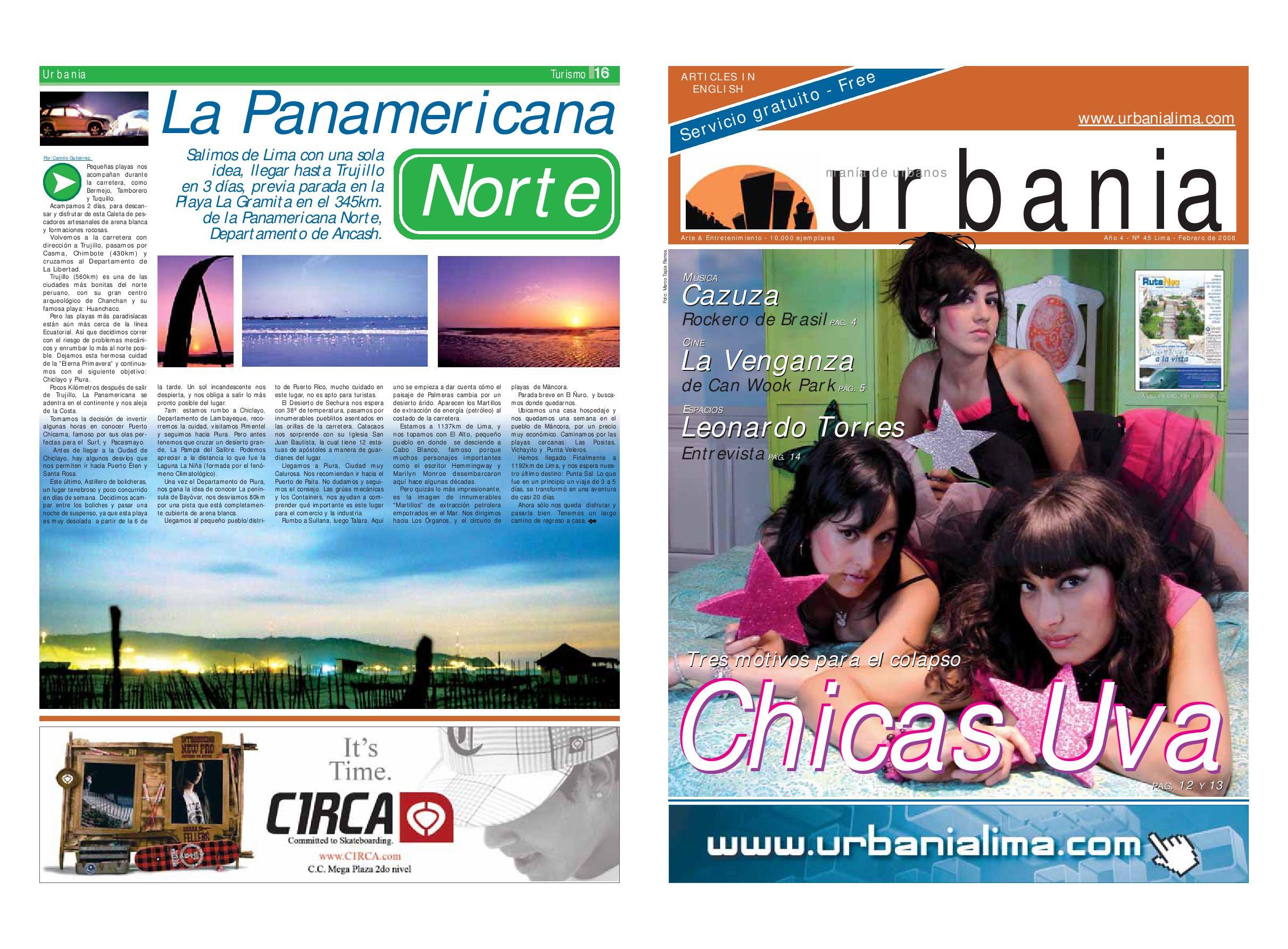 2aa50b3b82dc Urbania Edicion 45 by urbania - issuu
