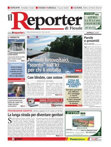 2008 Ilreporter Issuu Fiesole By Aprile Il Reporter qgwtaa