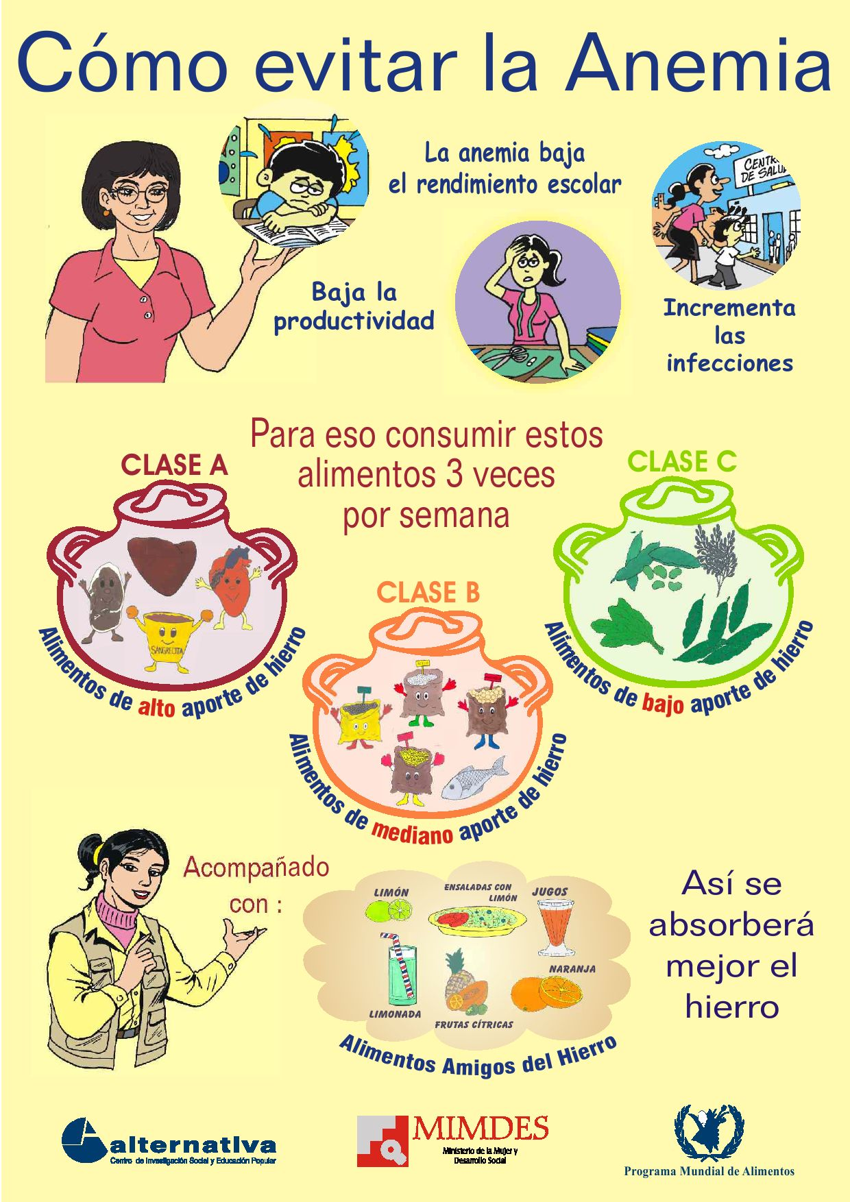 Afiche anemia by world food programme issuu - Como evitar los ratones ...