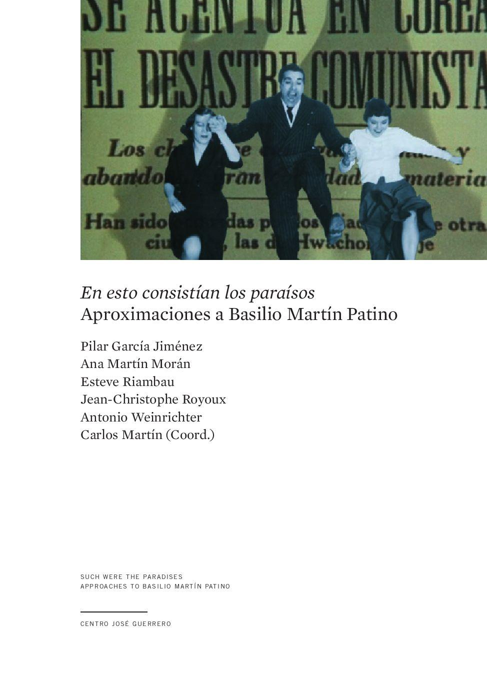 Aproximaciones A Basilio Martín Patino By Blogguerrero Issuu