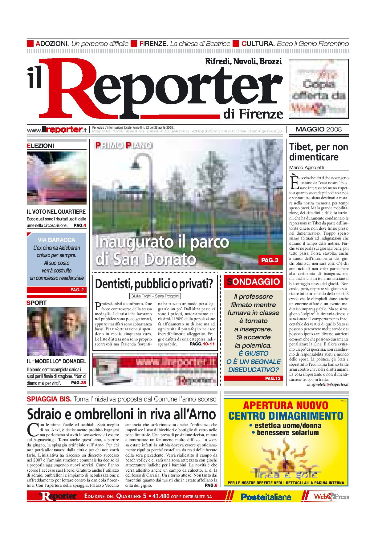 Alfa Edil Firenze Srl il reporter - quartiere 5 - maggio 08 by ilreporter - issuu