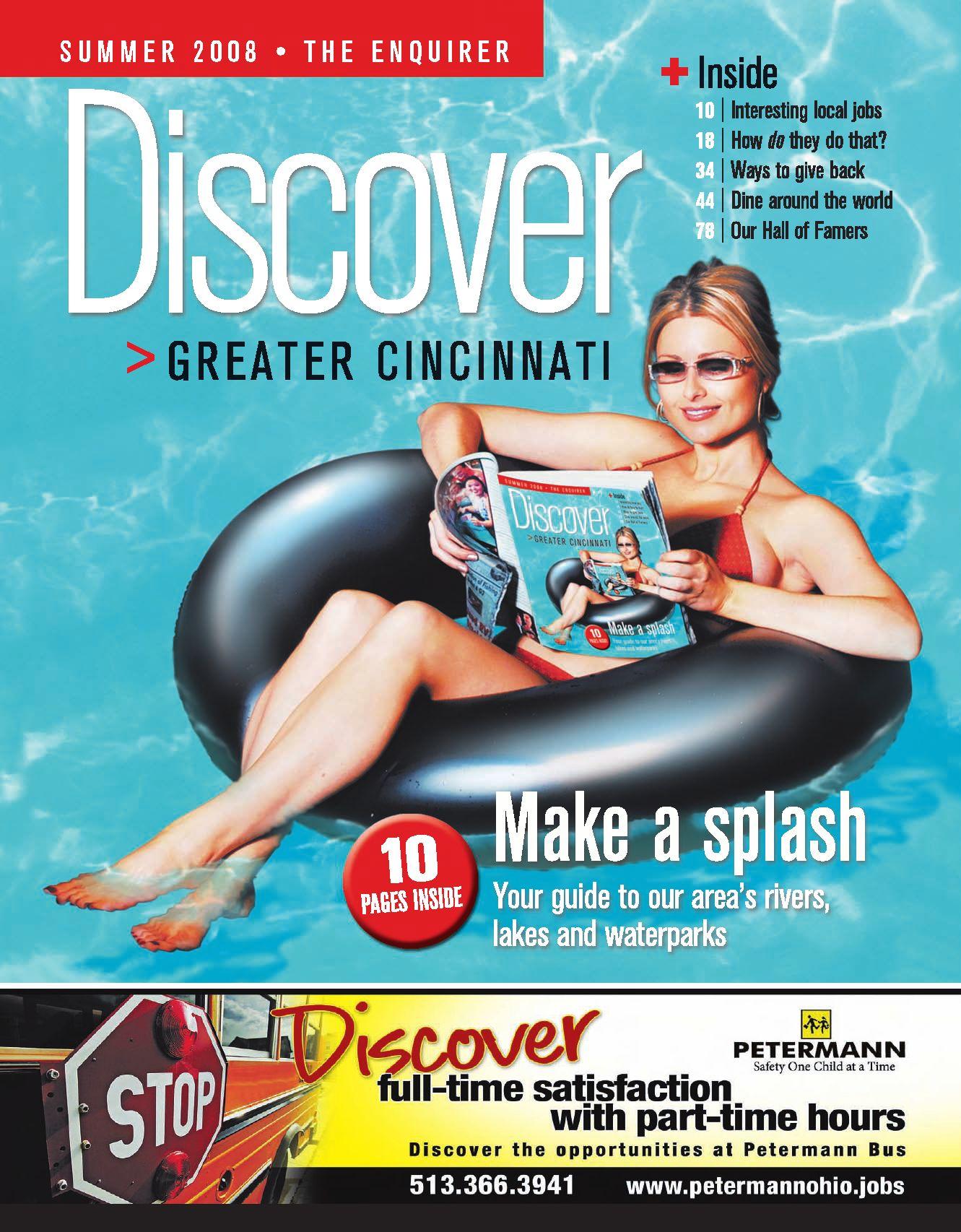 Discover Greater Cincinnati 2008 by Enquirer Media issuu
