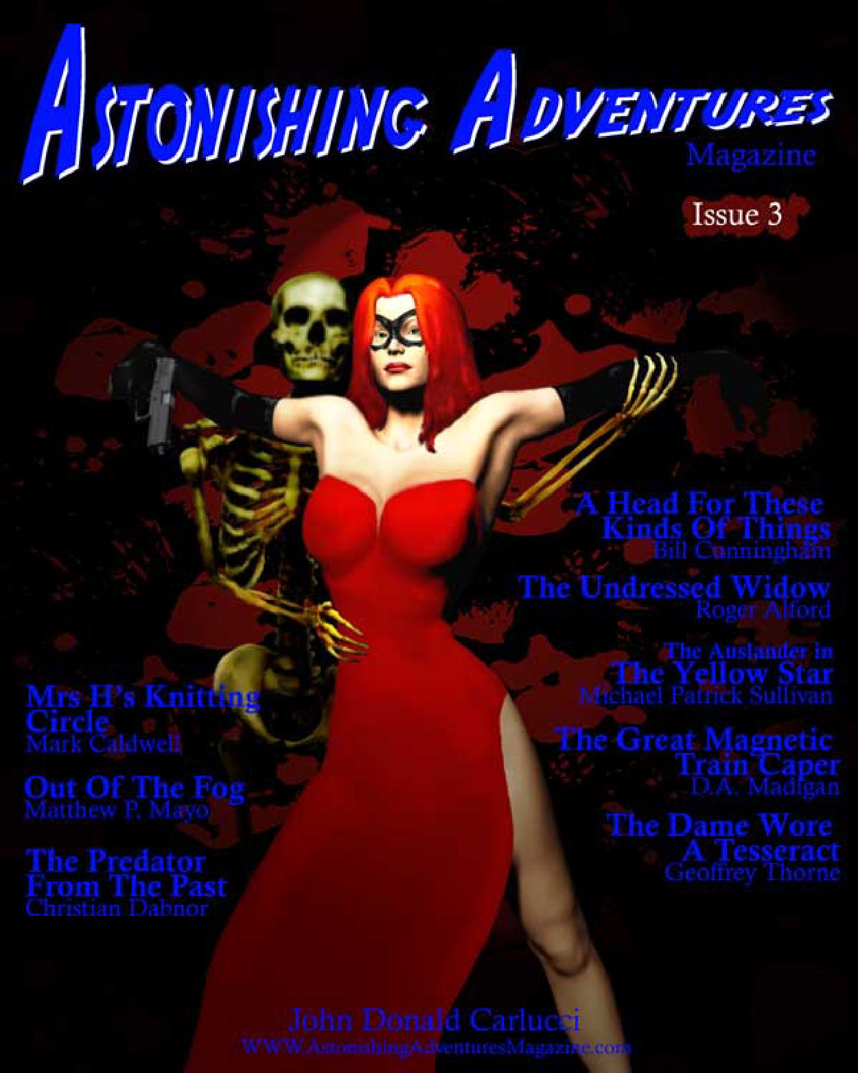 Astonishing Adventures Magazine Issue 3 by Astonishing - issuu