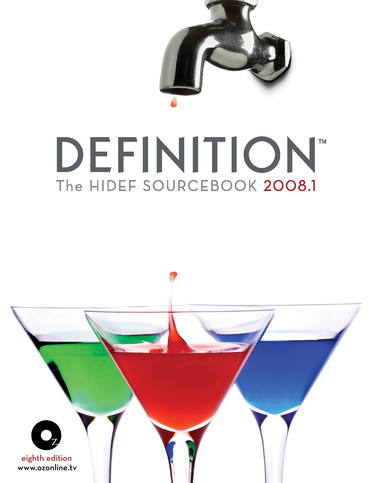 f276d23d3520 DEFINITION  The Hi-Def Sourcebook 2008 by Oz Publishing