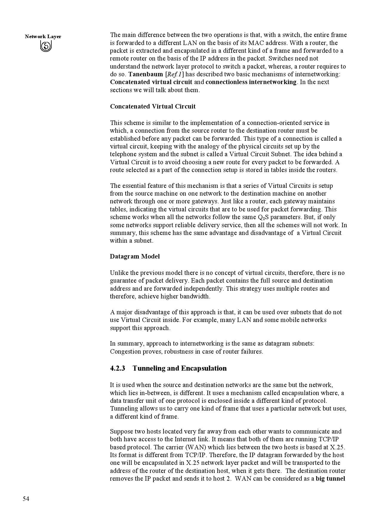 Mcs 042 Ignou Study Material By Mca Issuu Virtual Circuit