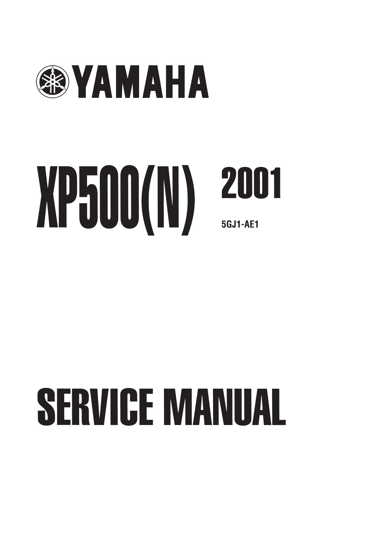Yamaha XP 500 N T-Max 5GJ1 - Regulator//Rectifier 500 CC 2001