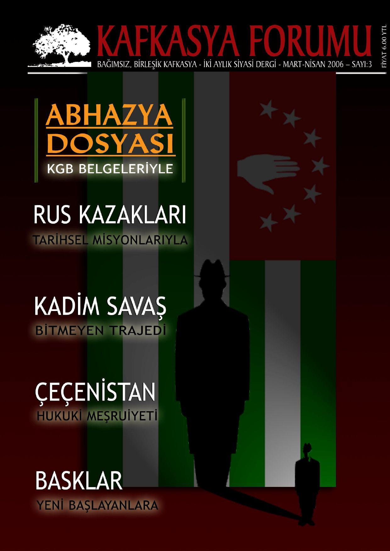 Kafkasya Forumu Dergisi Sayi 3 By Sencer Issuu