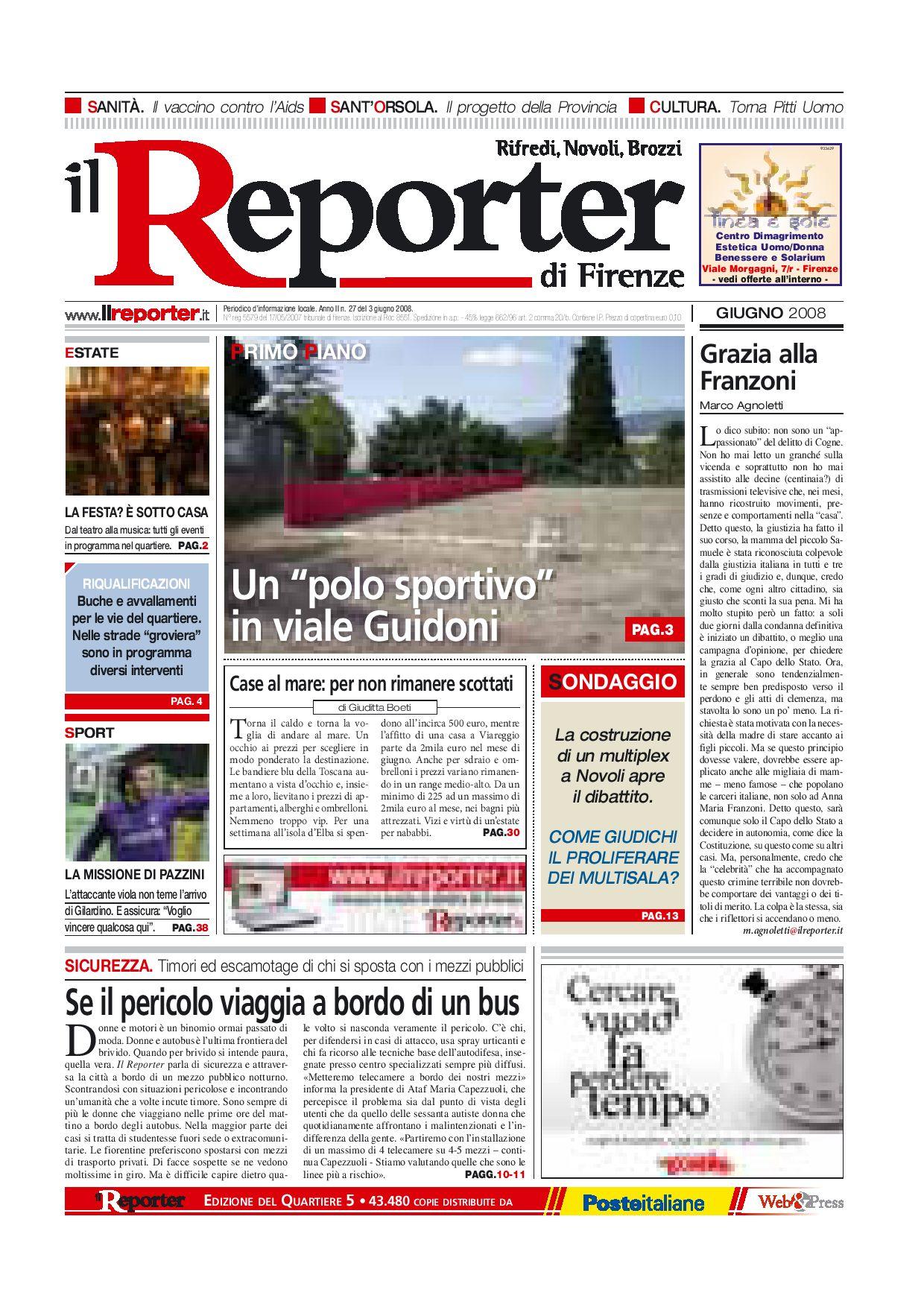 Alfa Edil Firenze Srl il reporter - quartiere5 - giugno2008 by ilreporter - issuu