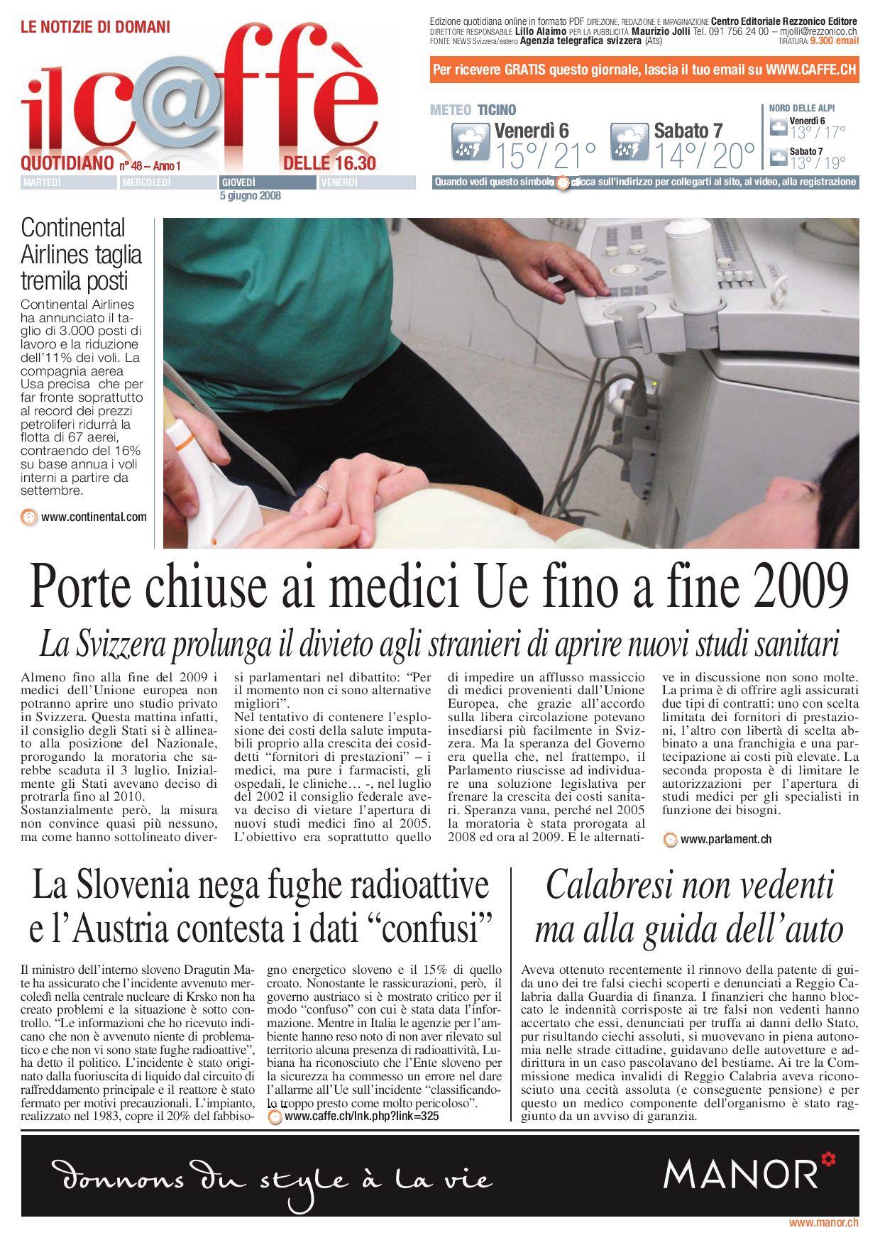 Agenzie Lavoro Canton Grigioni caffè quotidiano numero 48 by ilcaffe - issuu