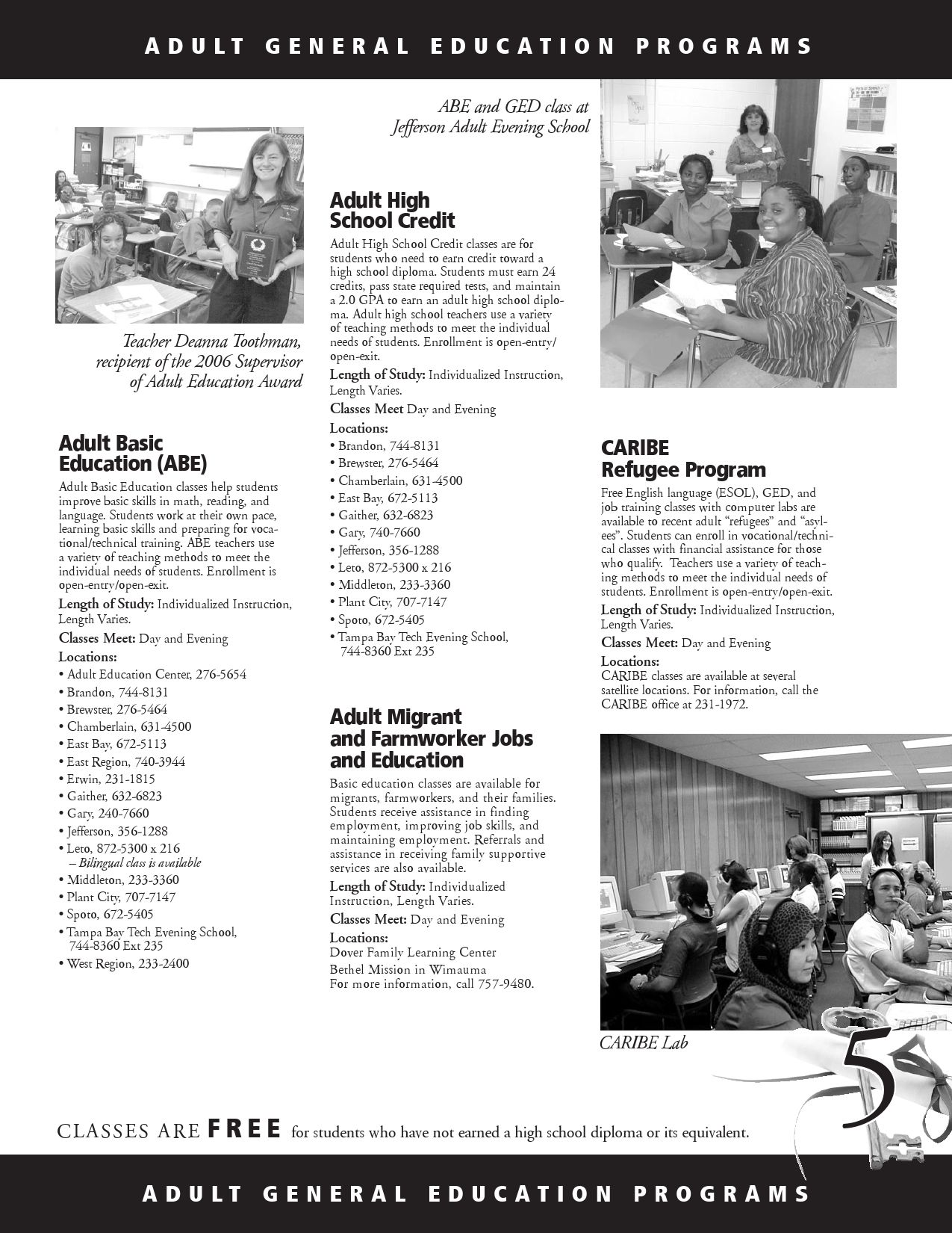 General Education Programs by Hillsborough County Public Schools Career,  Technical, Adult, and Community Education - issuu