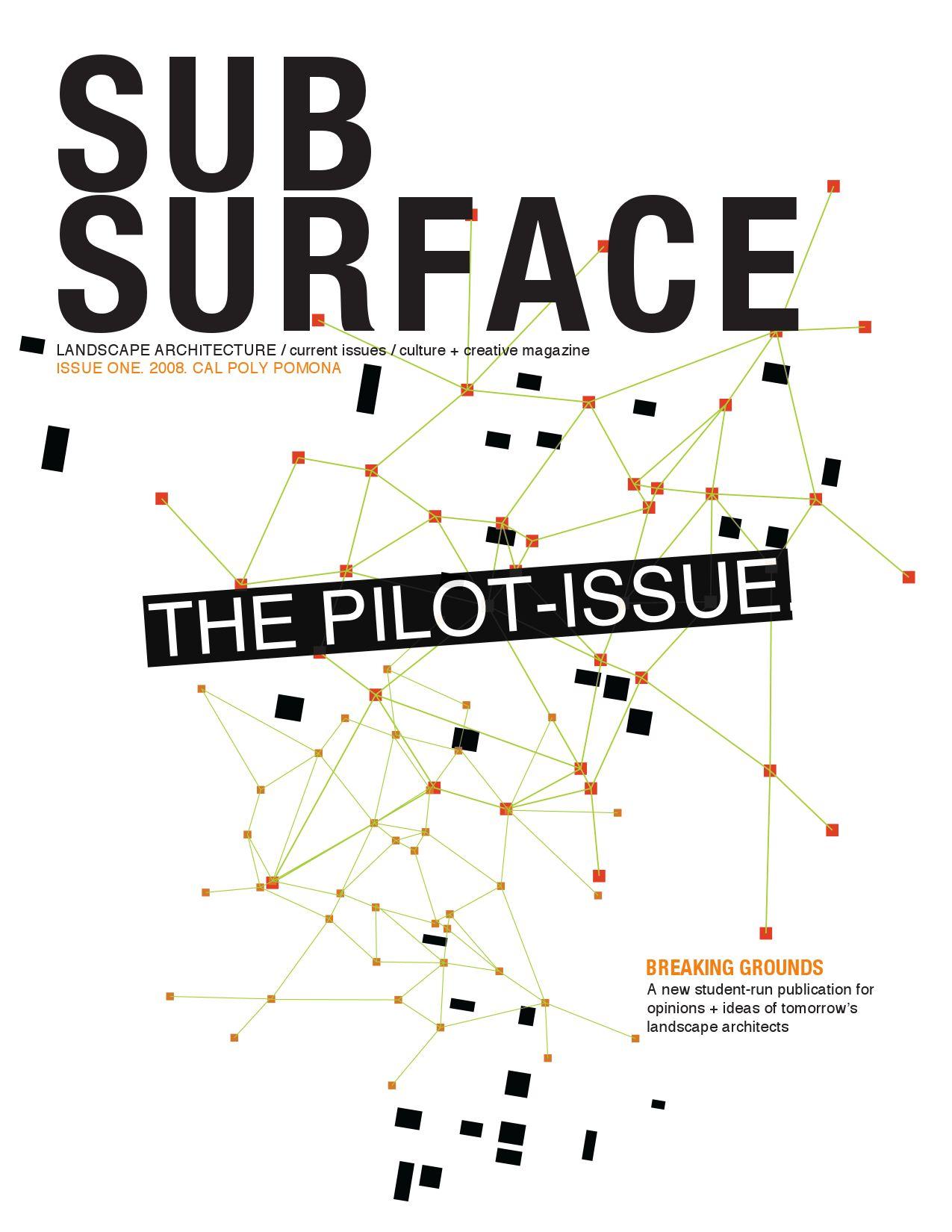 Subsurface Magazine Issue 001 By Joshua Llaneza Issuu