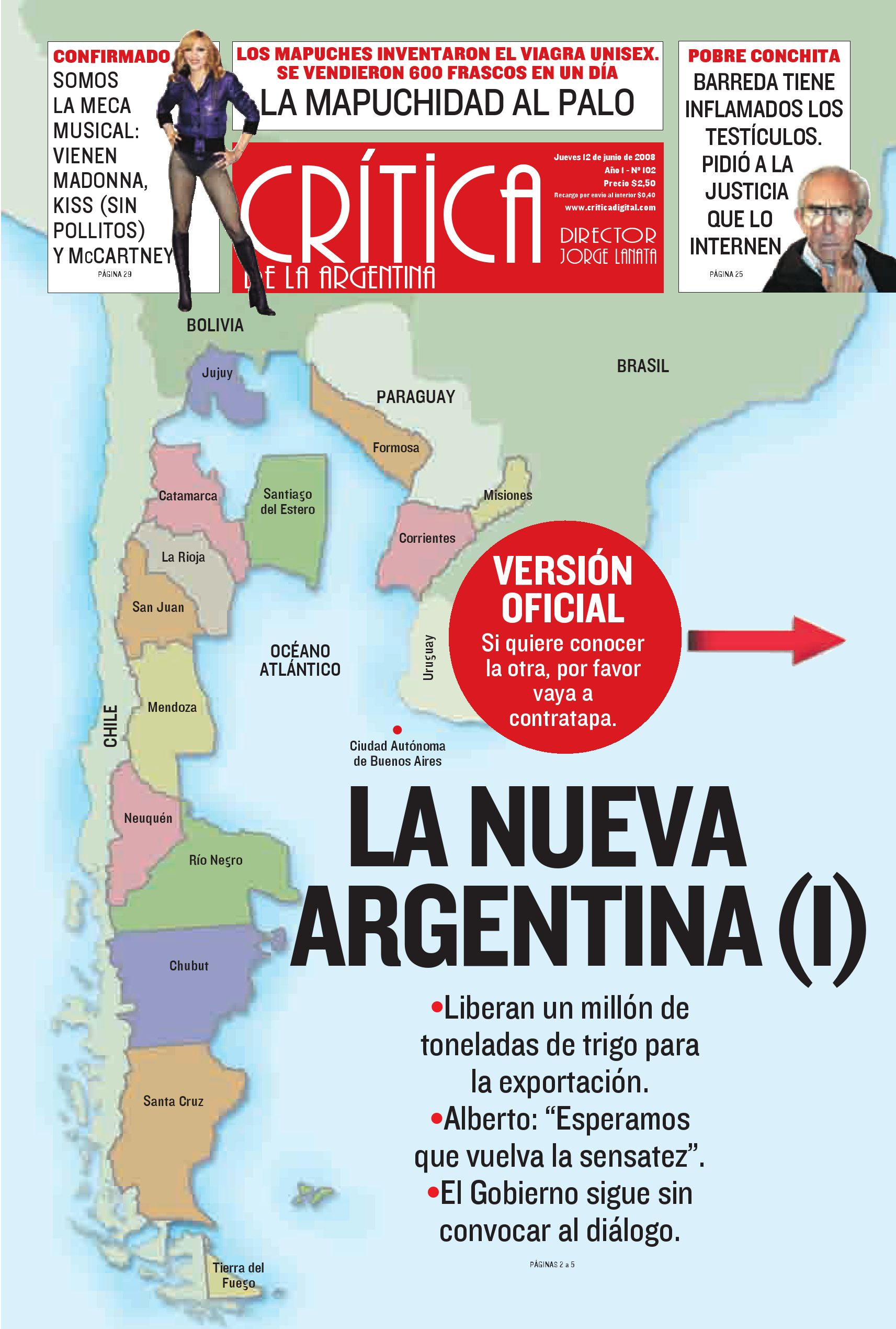 Diario Critica Argentina by Teresa Elguer - issuu