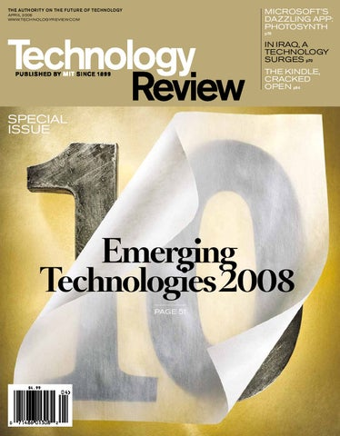 Technology review apr2008 by teresa elguer issuu page 1 malvernweather Image collections