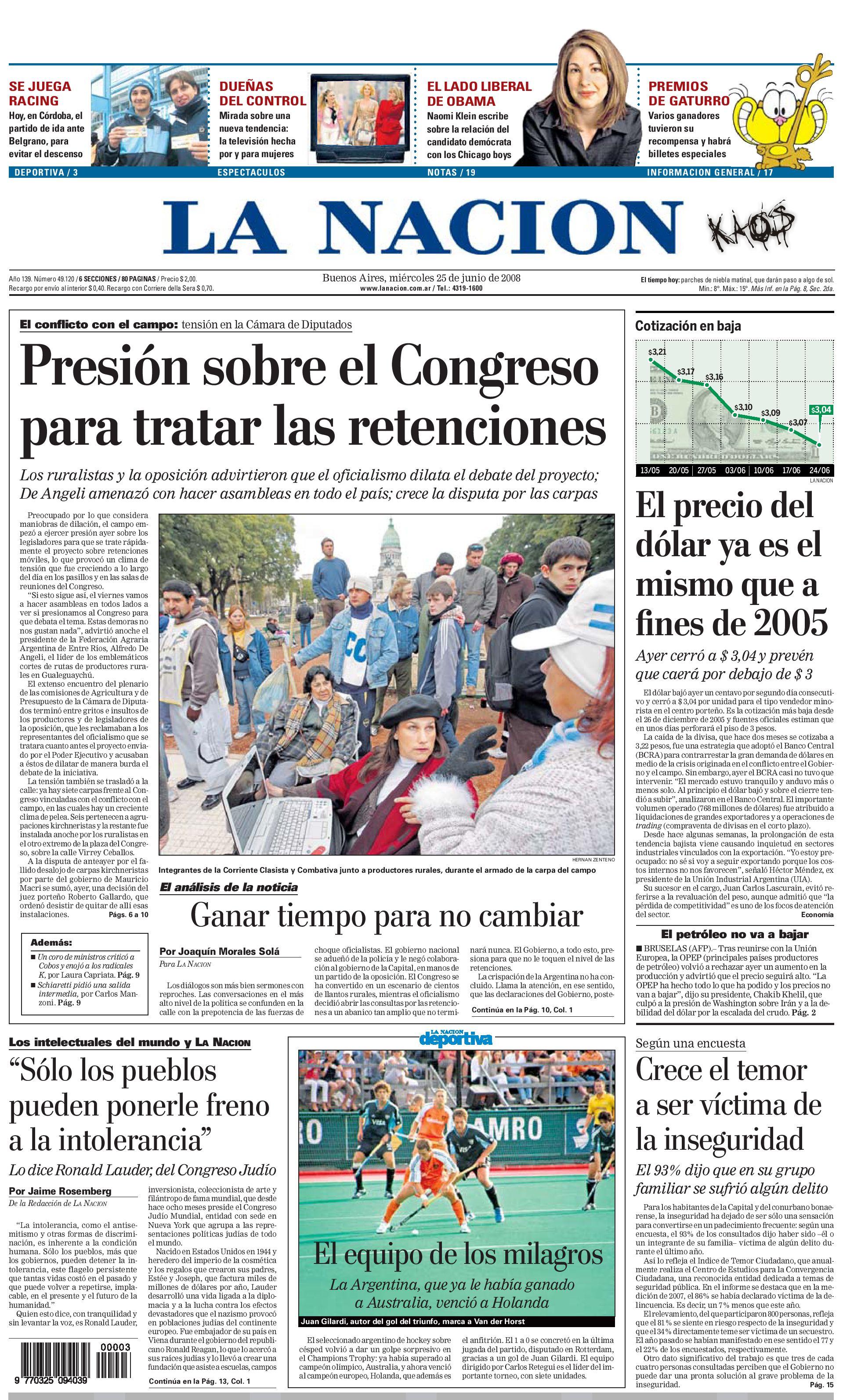 Diario La Nacion Argentina by Teresa Elguer - issuu ea129ec02581d