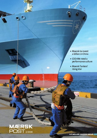 Maersk Post By Ulrik Therkildsen Issuu