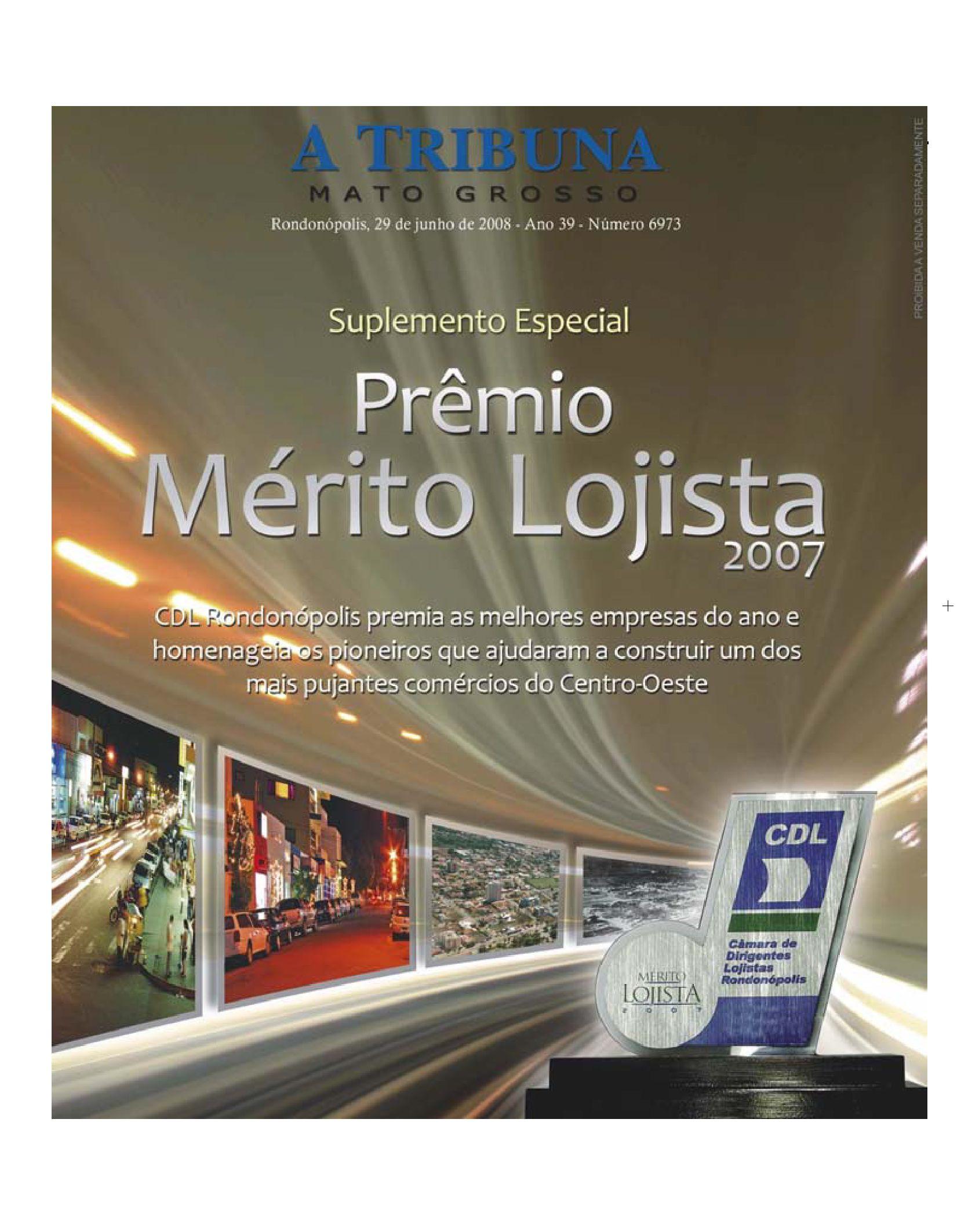 417ac7ca4d4 Suplemento Prêmio Mérito Logista 2007 by atribunamt - issuu