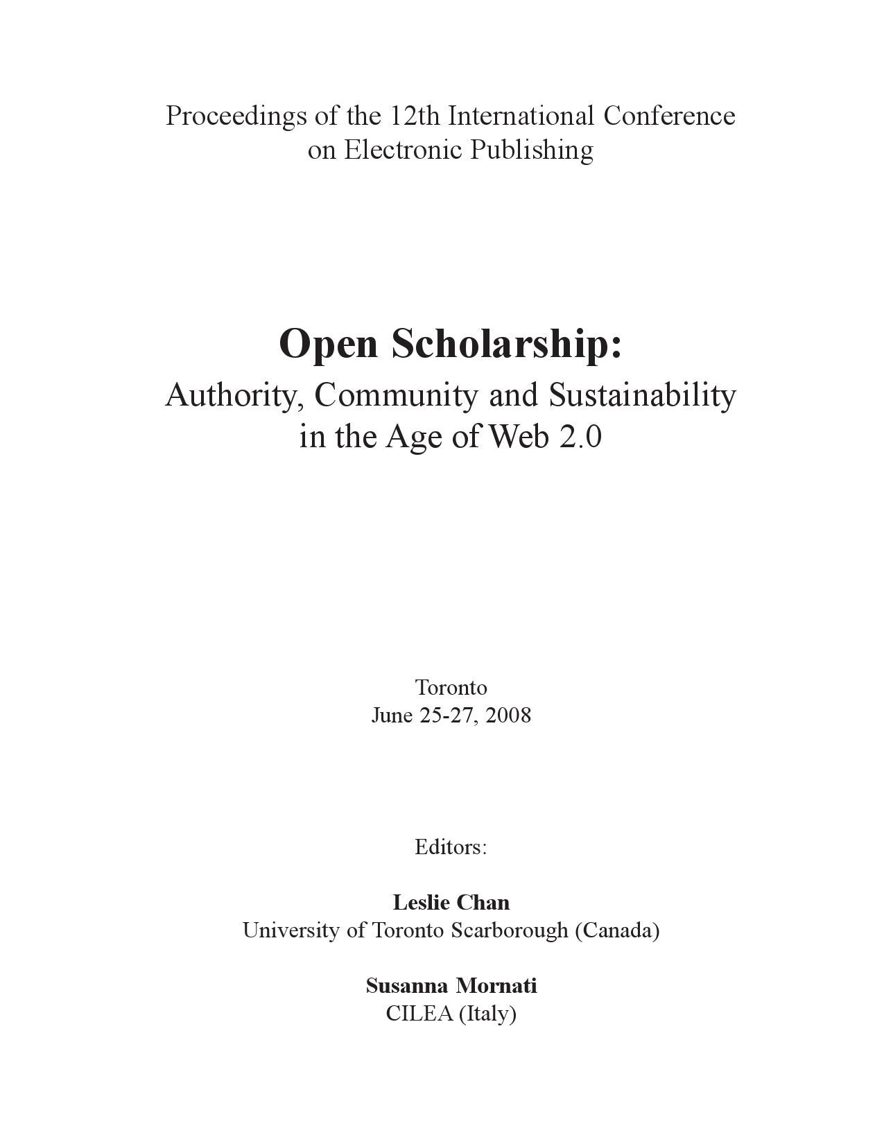 Open scholarship by leslie chan issuu fandeluxe Choice Image