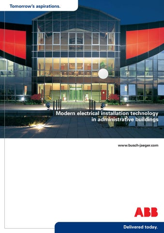 ABB - Modern Electrical Installation Technology by Michael James - issuu