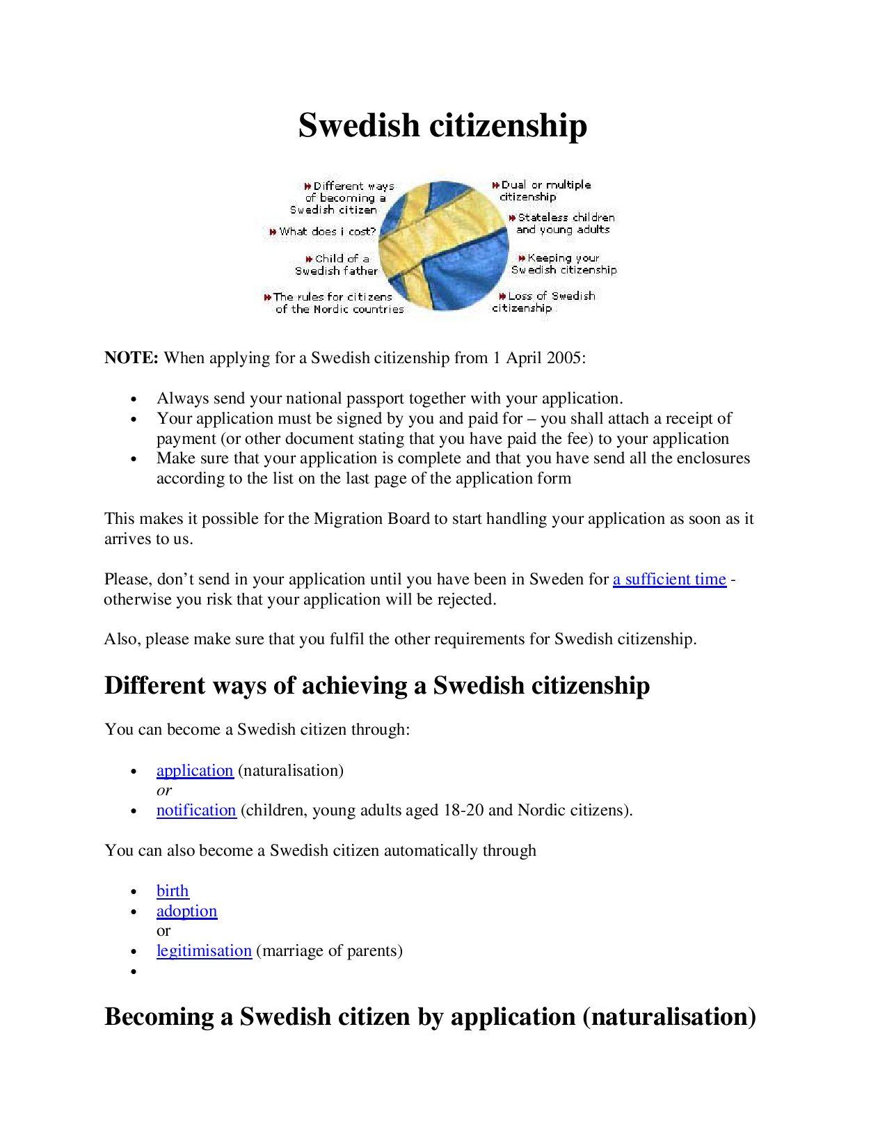 Citizenship by oaki issuu – Citizenship Application Form