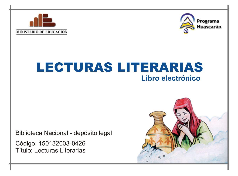 Lecturas literarias by Educacion Secundaria a Distancia - issuu