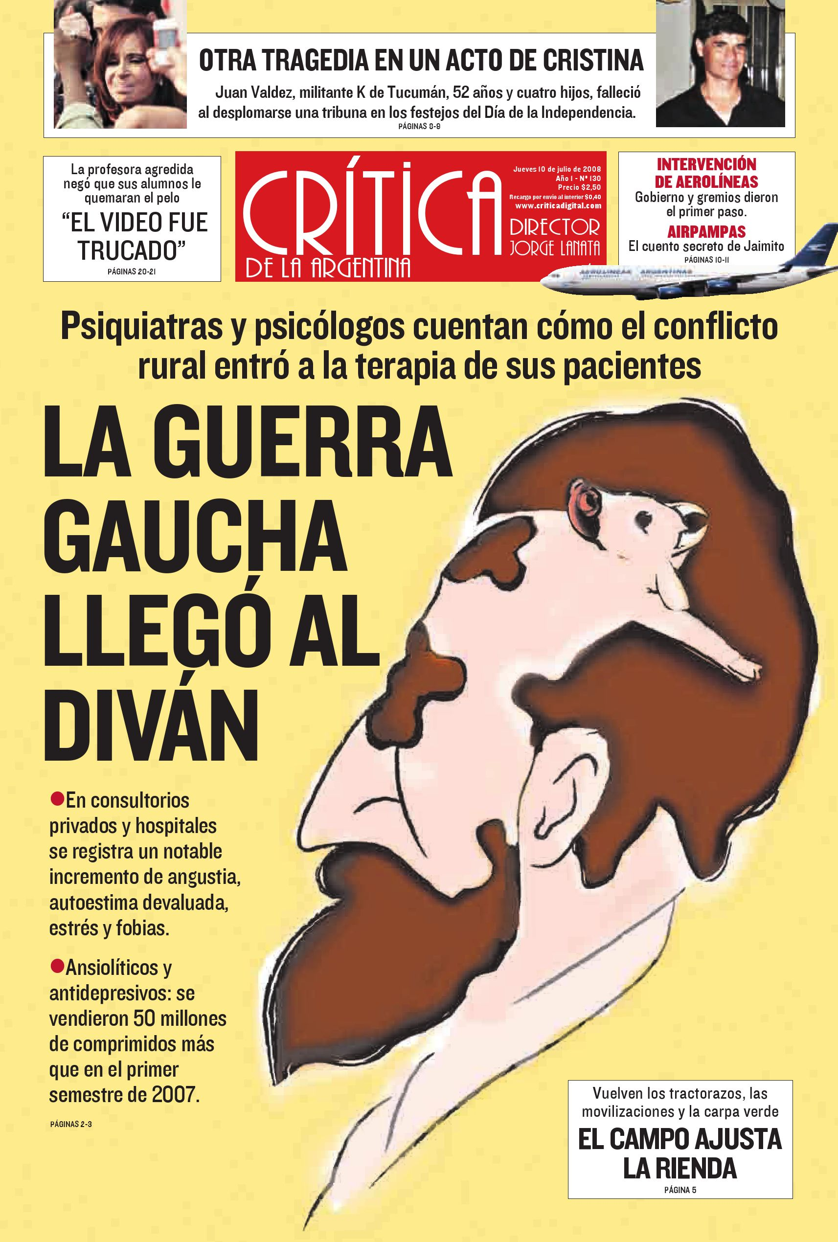 new style 680a4 69c5f Diario CRITICA Argentina by Teresa Elguer - issuu