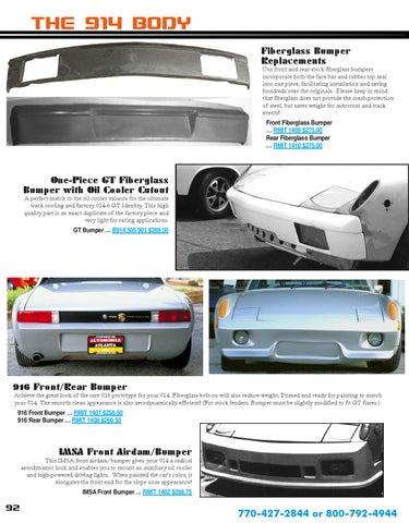 Porsche 914 Parts Catalog by Jason Humphrey - issuu