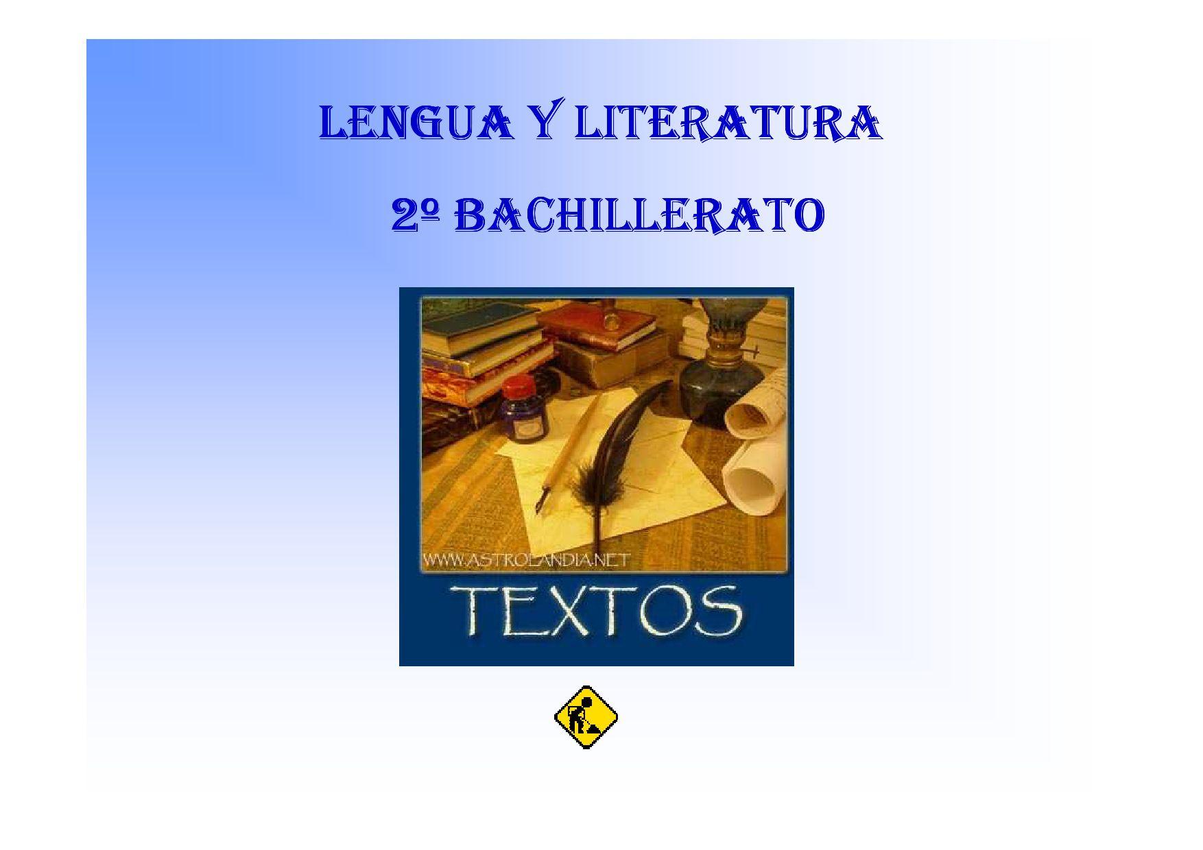 Estructura De Los Textos 2º Bachillerato By Kulklas Maria